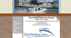 Preview of charlestonpowerboatrentals.net