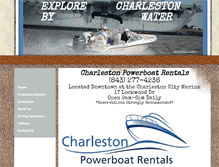 Tablet Preview of charlestonpowerboatrentals.net